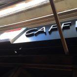 3d shop sign -London