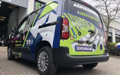 Van Wrap Chatham for Car Parts local company looking good !!!