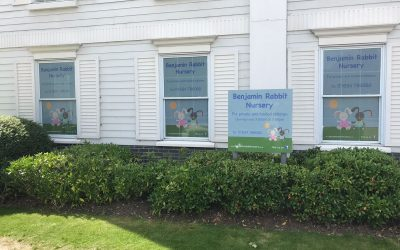 Kent Nursery gets new Graphics for its opening
