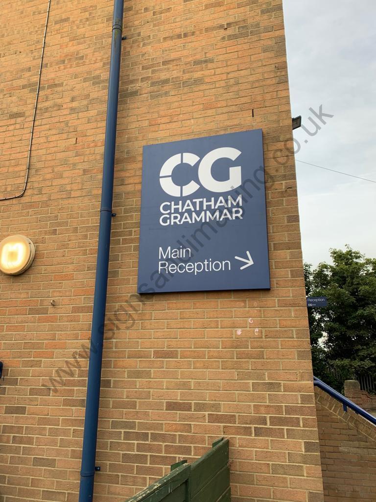 Chatham Grammar Girls signage-03