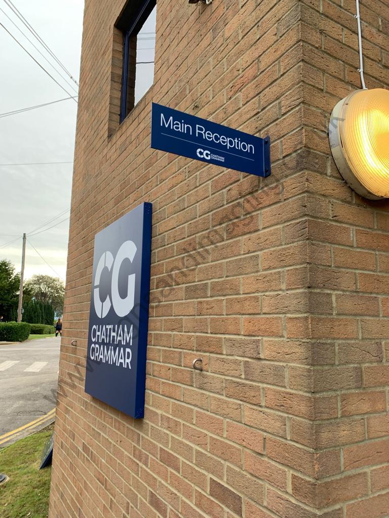 Chatham Grammar Girls signage-04