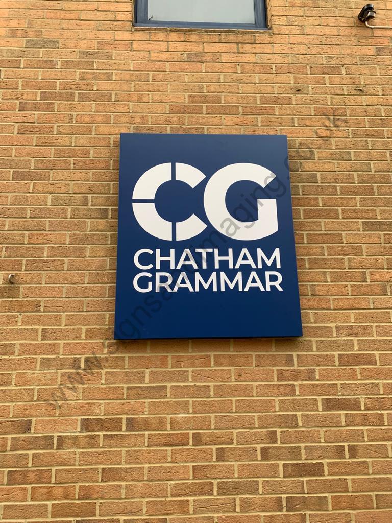 Chatham Grammar Girls signage-06