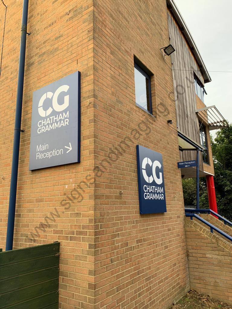 Chatham Grammar Girls signage-07