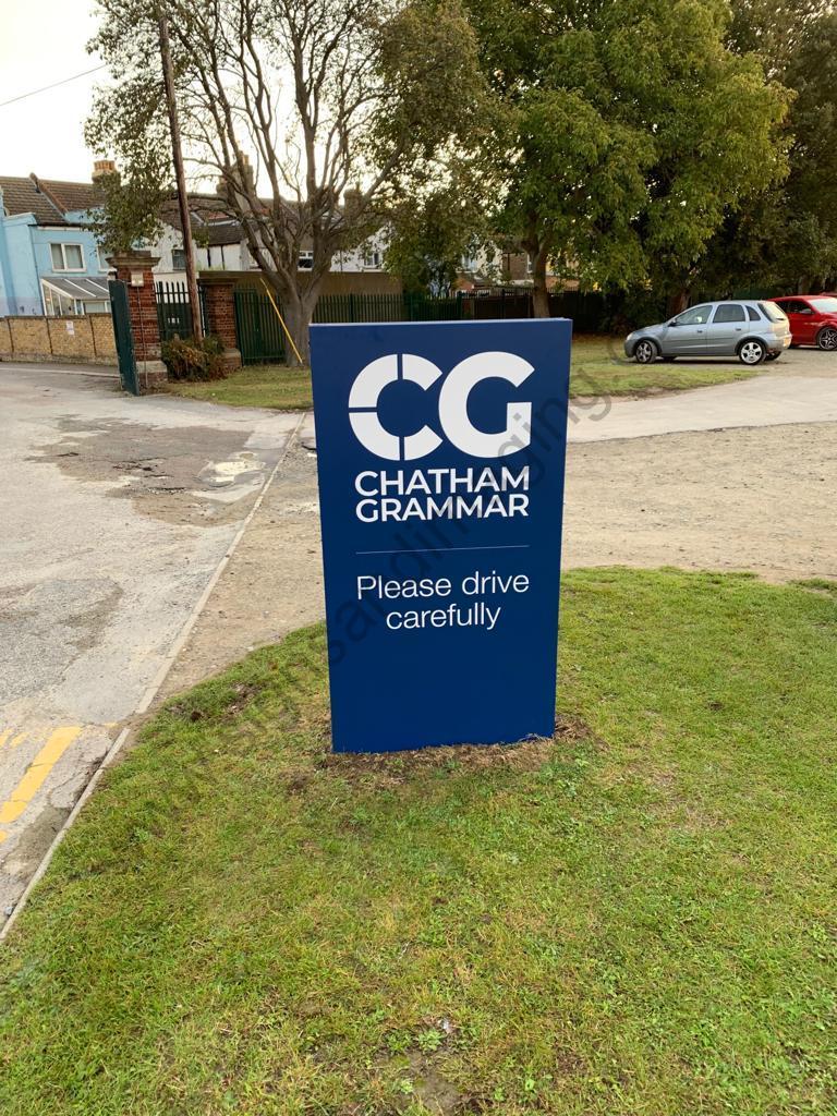 Chatham Grammar Girls signage-08