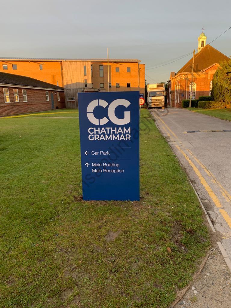 Chatham Grammar Girls signage-09