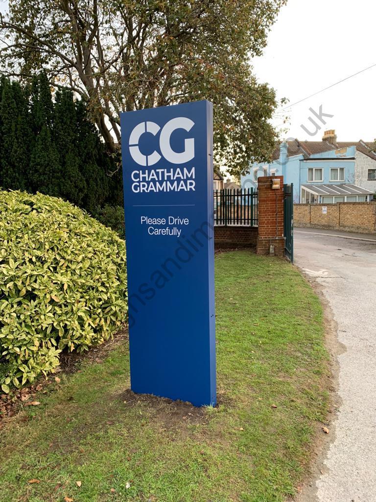 Chatham Grammar Girls signage-10