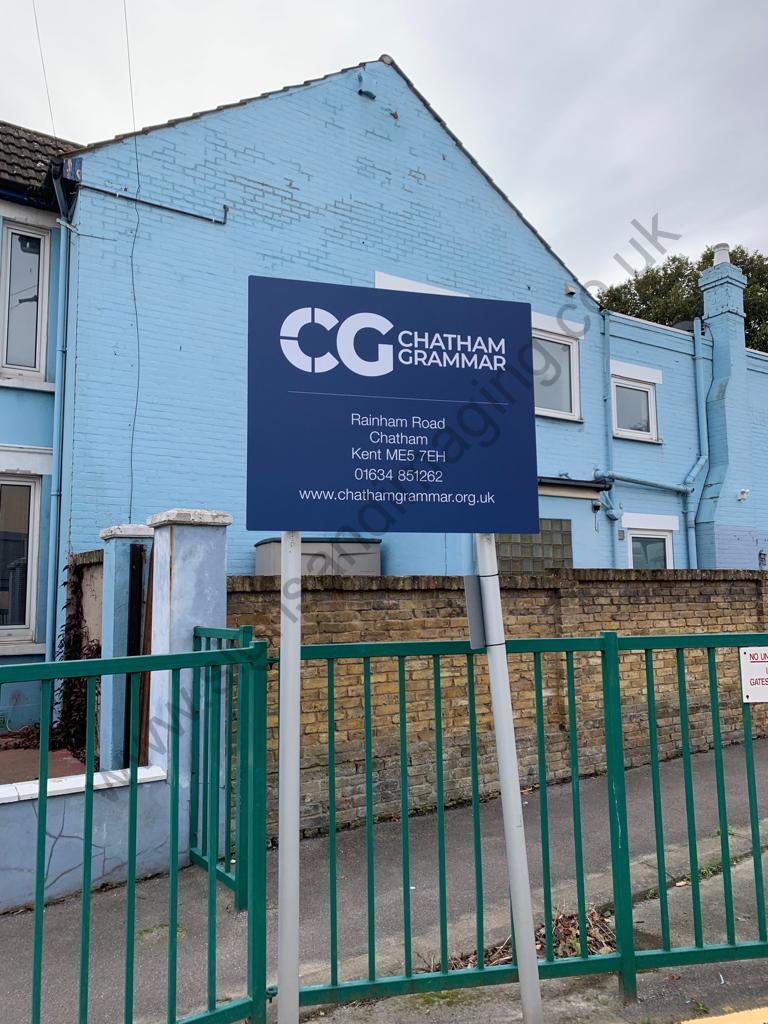 Chatham Grammar Girls signage-13