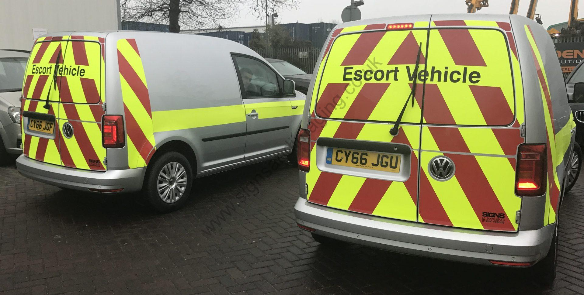 Escort Vehicles Rochester Now Compliant Signs And Imaging