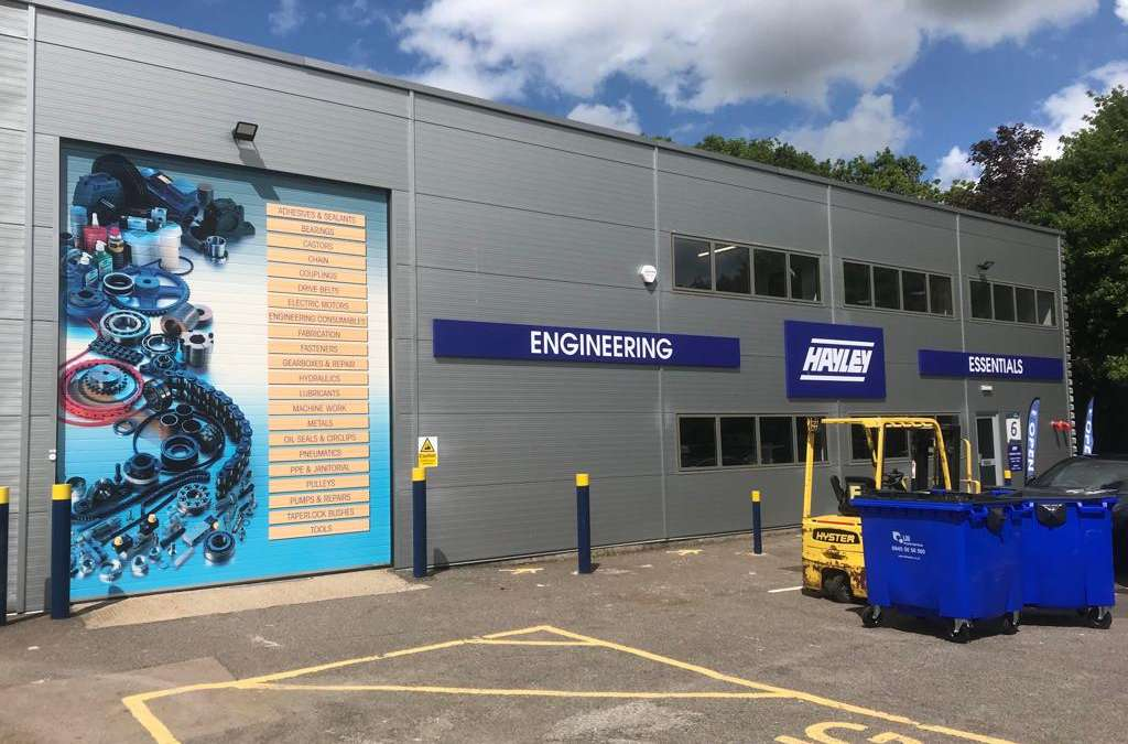 Commercial Unit Signs on Gillingham Business Park