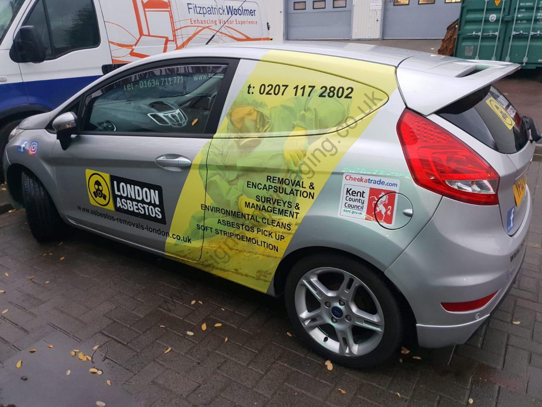 London Asbestos small van Oct 18-1