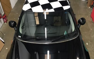 Mini Roof Wrap Takes the Chequered Flag !!!!