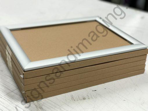 Minimus Snapframe SILVER A4 x5