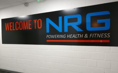 Watford based Gym gets a signage Makeover !!!