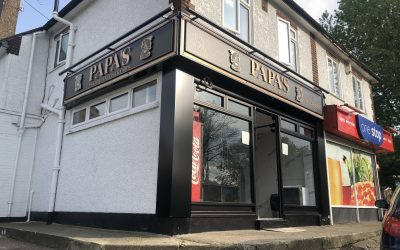 Papa's Fish & Chip Shop Rochester gets new look Signs