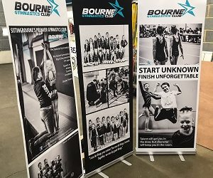Roller Banners & Pull Up Banners Sittingbourne turned around same day for client