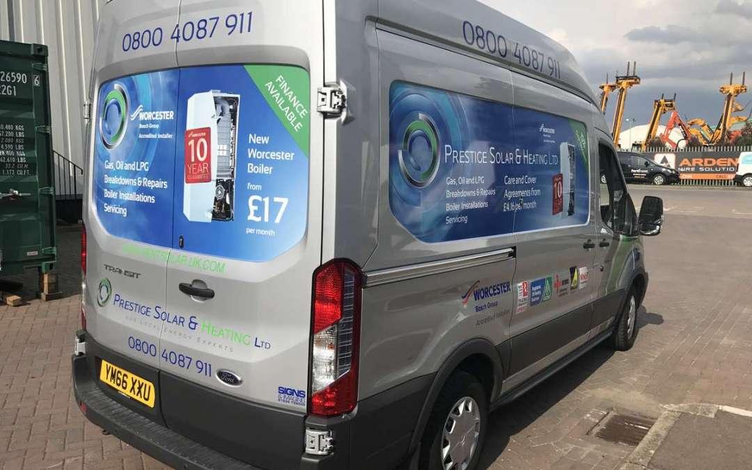 Prestige Solar Van