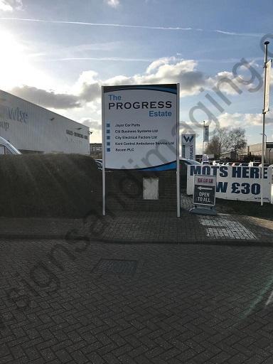 Progress-Ind-Est-Post-Sign-Maidstone-Dec-18-1-50