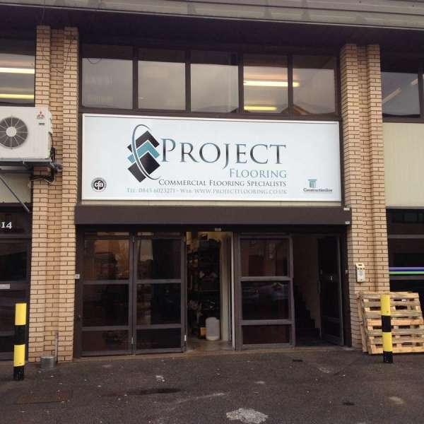 Project Flooring Frame & ACM Panel 1