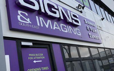 3D Colour change LED Fascia Sign Rochester