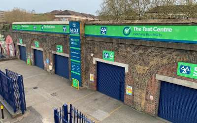 New Printed Fascia Signage Rebrand in Deptford London completed