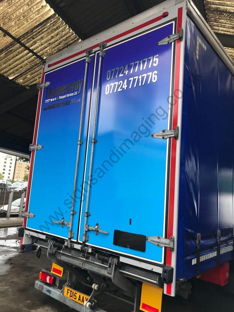 Thameside Transport Lorry Wrap Aug 18-05