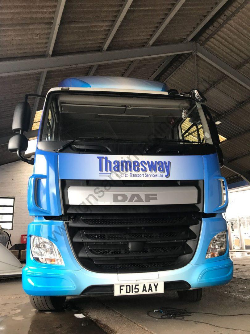 Thameside Transport Lorry Wrap Aug 18-09