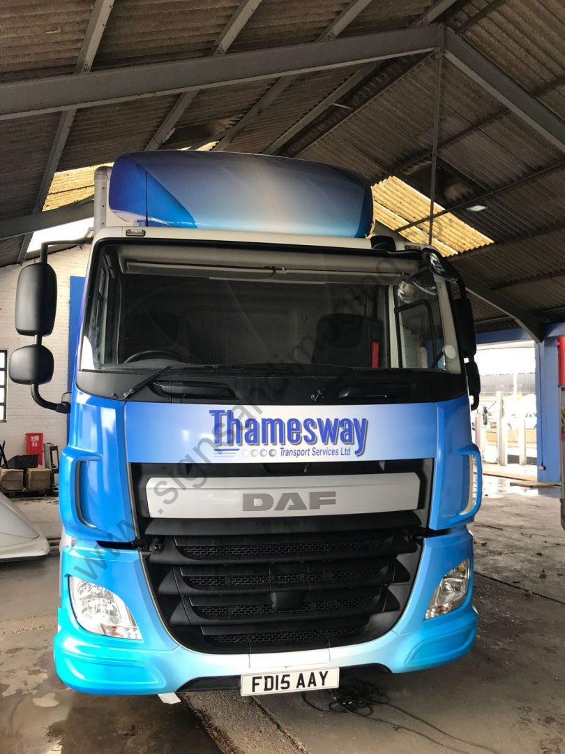 Thameside Transport Lorry Wrap Aug 18-10