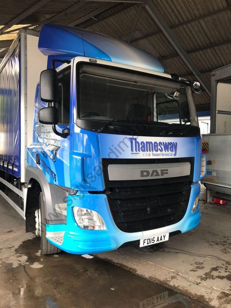 Thameside Transport Lorry Wrap Aug 18-11
