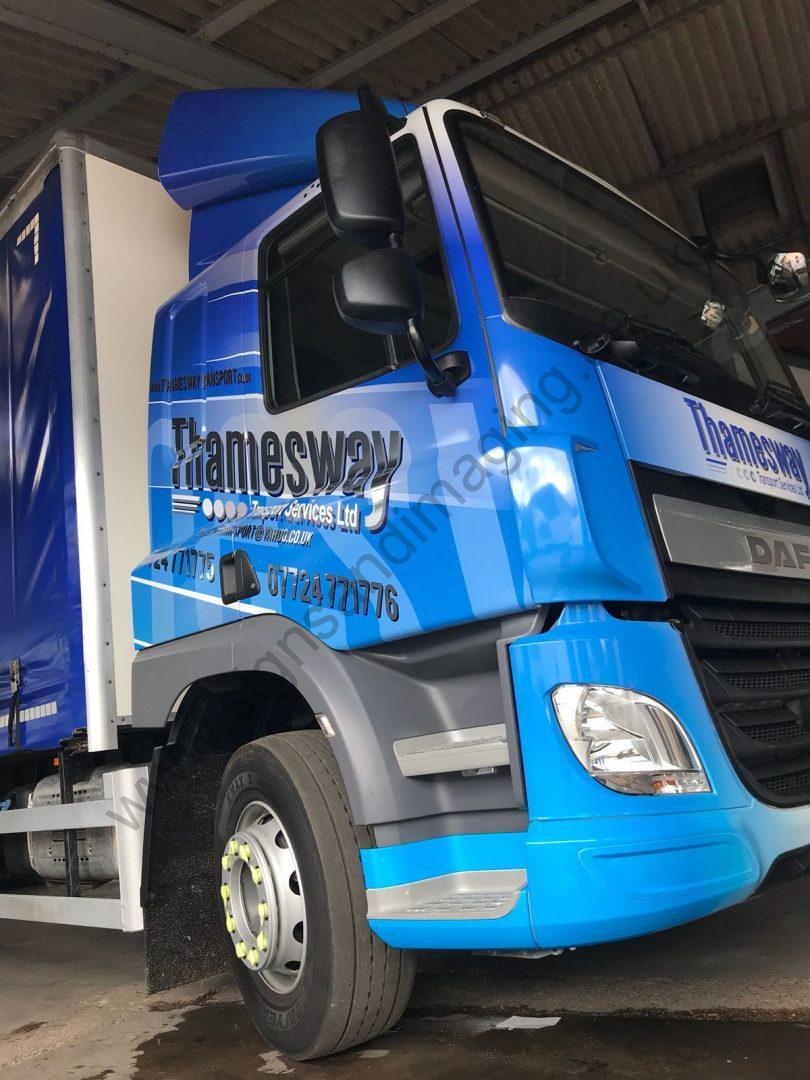 Thameside Transport Lorry Wrap Aug 18-13