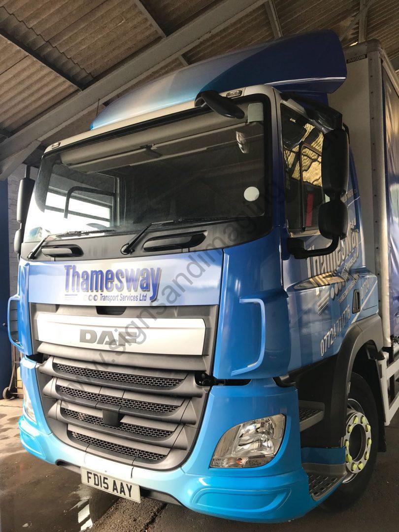 Thameside Transport Lorry Wrap Aug 18-23