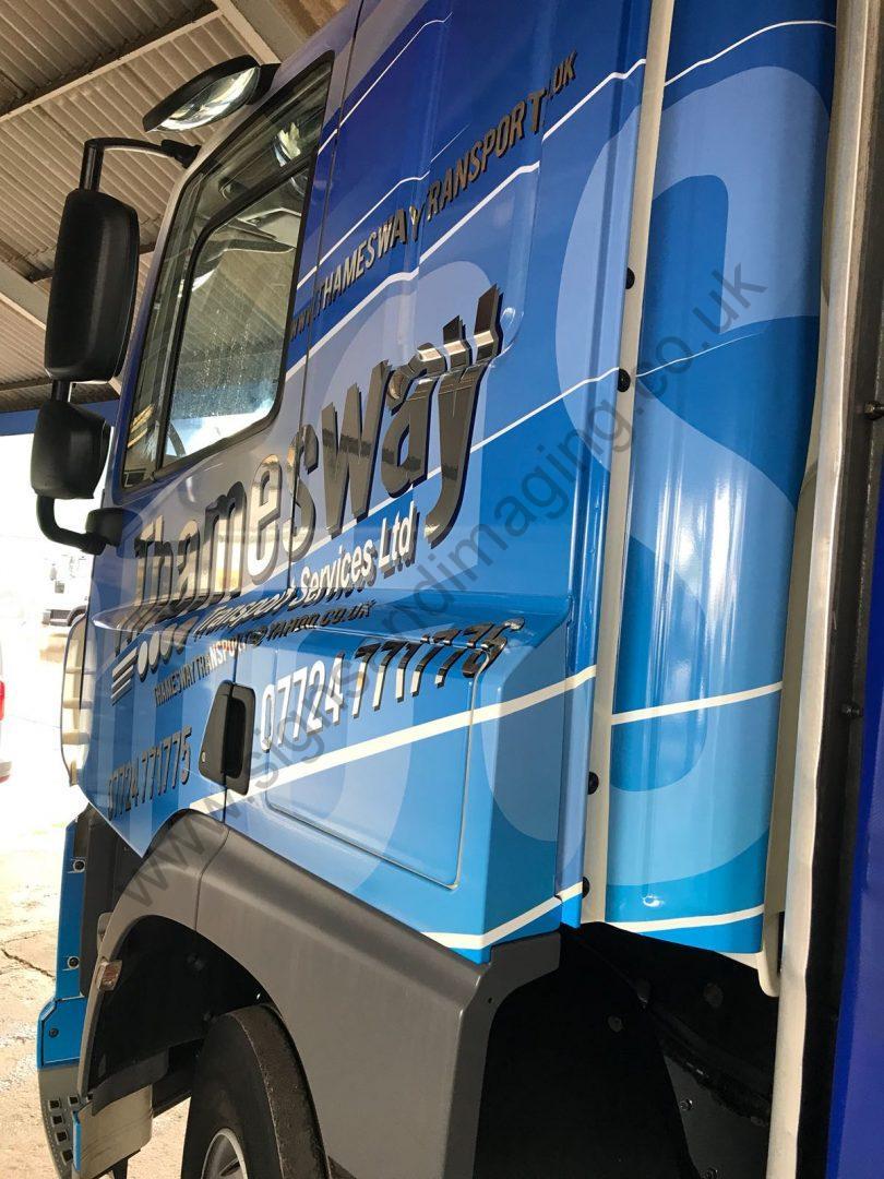 Thameside Transport Lorry Wrap Aug 18-24