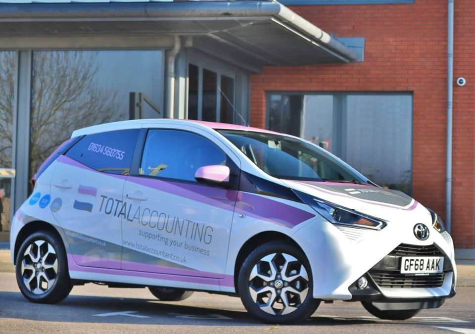 Total Accounting Toyota Aygo Wrap