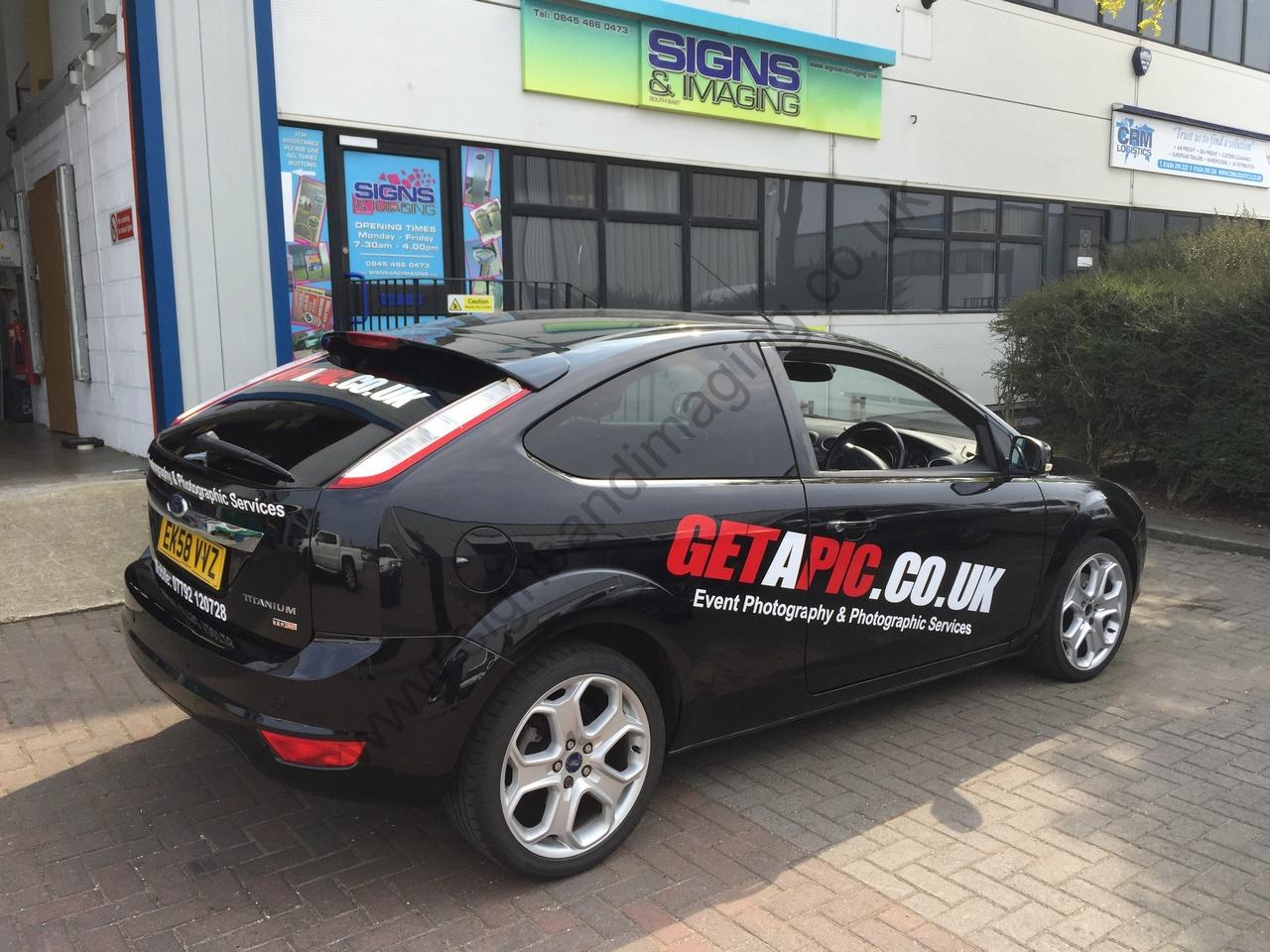 Car Graphics Car Wraps Decals Signs And Imaging Kent