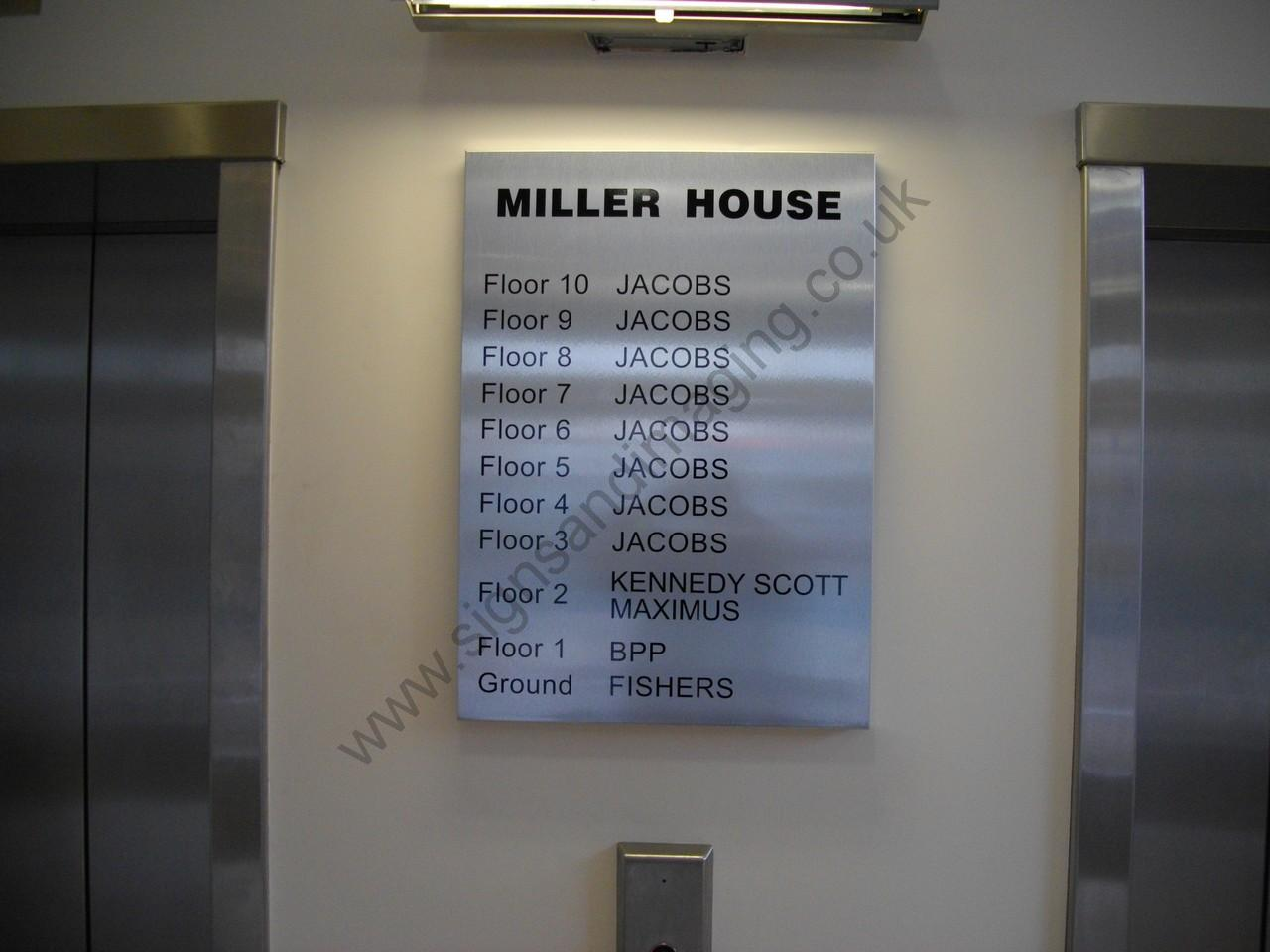 Reception Directory Signs Signs And Imaging