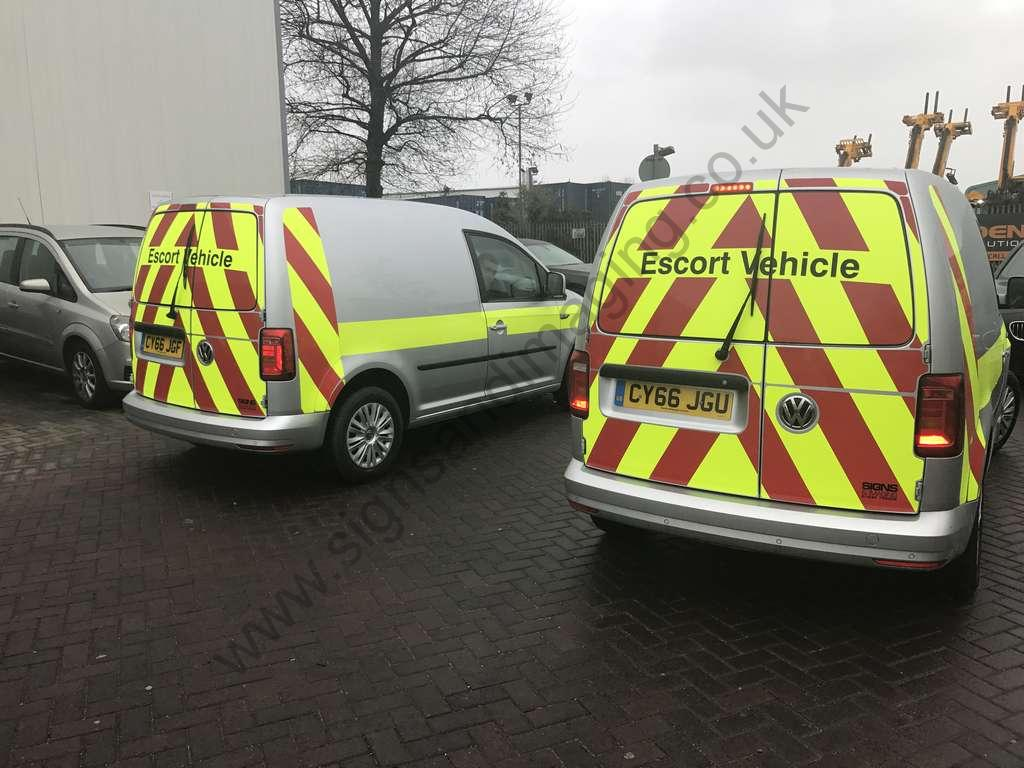 Uk Escort Directory >> Reflective Vehicle Markings (Chapter 8) | Signs and Imaging