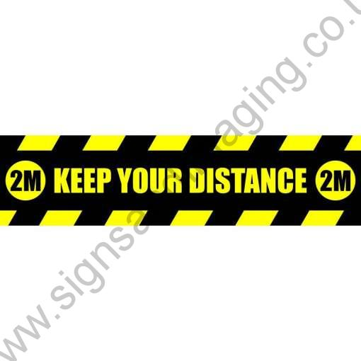 sq-Keep-Your-Distance-Black